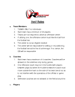 Prestige Recruits 7on7 Rules