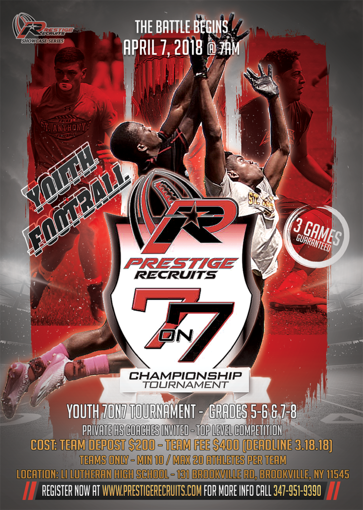 Prestige Recruits 7on7 Youth Football Tournament